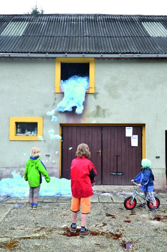 Der süße Brei, Klangkunsthöfe, Bärwalde, 2013