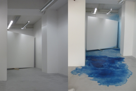 Stephanie Lüning_colored space before and after_2015