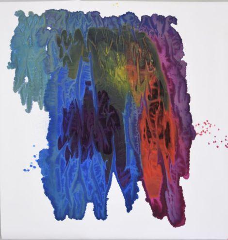 colored paper No.II, 2016