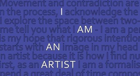 I am an Artist 6x11 2019
